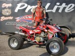 Mark Beevers - double British quad champion